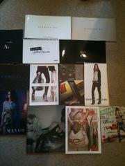 14 Fashion & Accessories Magazines / Handbook / Catalogues.