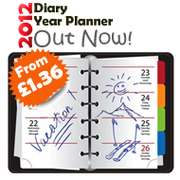 2012 Diary and Year Planner Available now